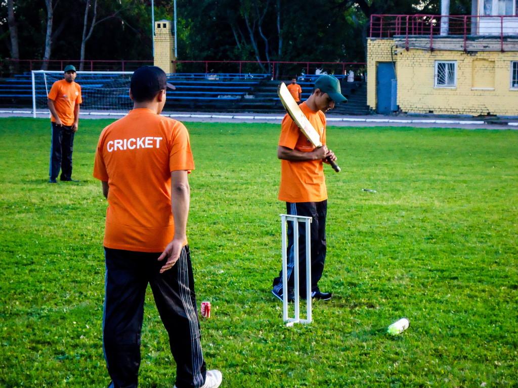 Крикетный матч проходил по правилам TWENTY20.